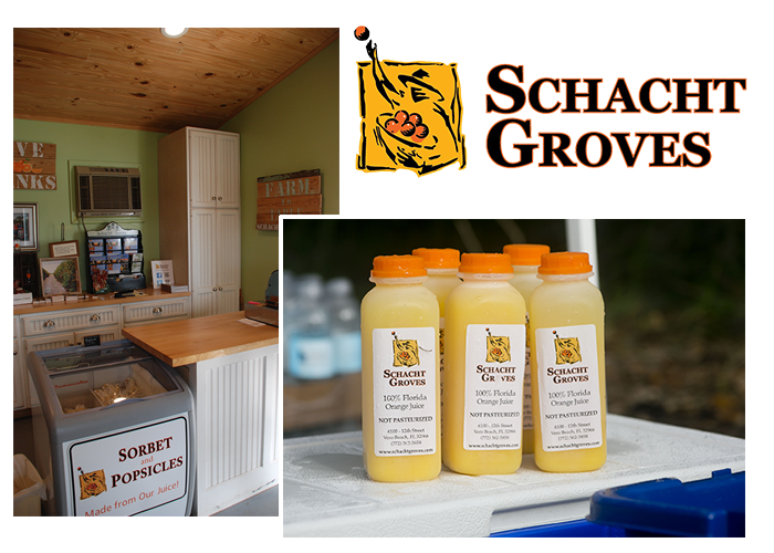 Thank you to Schacht Groves for providing juice to the Land Trust