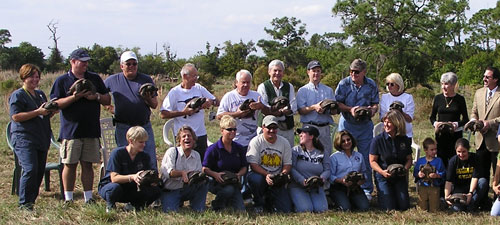 Gopher Tortoise Team at 2006 Humane Society Relocation